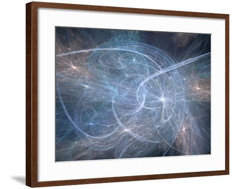 Artist's Concept of String Theory-Carol & Mike Werner-Framed Art Print