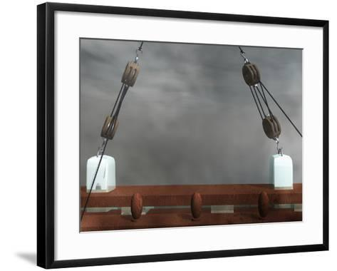 Block and Tackles-Carol & Mike Werner-Framed Art Print