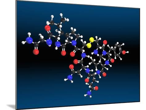 Oxytocin Molecule-Carol & Mike Werner-Mounted Photographic Print