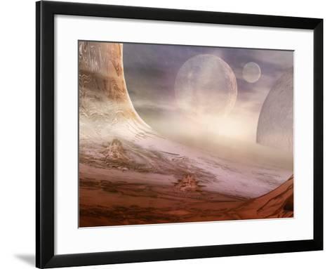Alien Planet-Carol & Mike Werner-Framed Art Print