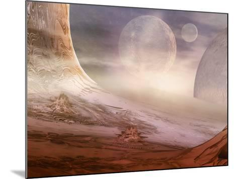 Alien Planet-Carol & Mike Werner-Mounted Photographic Print