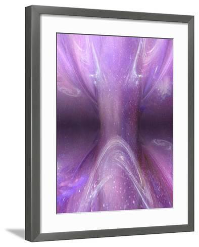 Artist's Concept of a Singularity in Space-Carol & Mike Werner-Framed Art Print