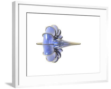 Breather, A Nonlinear Wave in Which Energy is Localized in Space And Oscillates in Time-Carol & Mike Werner-Framed Art Print
