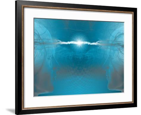 Networking, a Meeting of Minds-Carol & Mike Werner-Framed Art Print