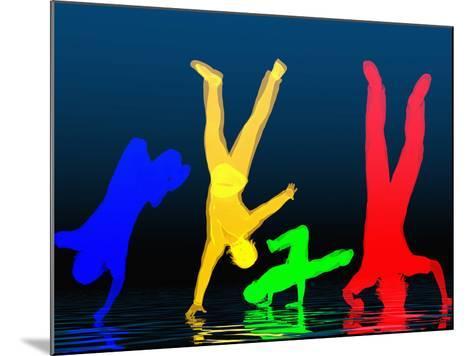 Breakdancers-Carol & Mike Werner-Mounted Photographic Print