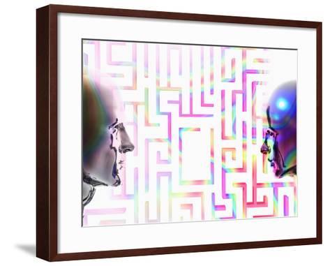 The Complex Nature of Human Relationships-Carol & Mike Werner-Framed Art Print