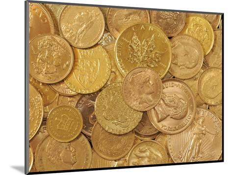 Gold Coins-Dave Watts-Mounted Photographic Print