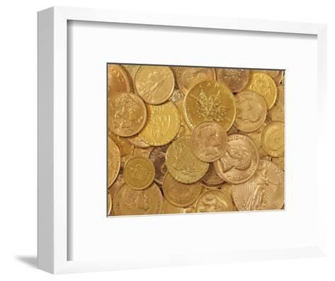 Gold Coins-Dave Watts-Framed Art Print