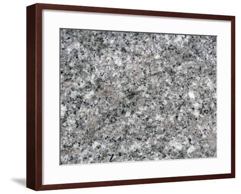 Granite Close-Up-Scientifica-Framed Art Print