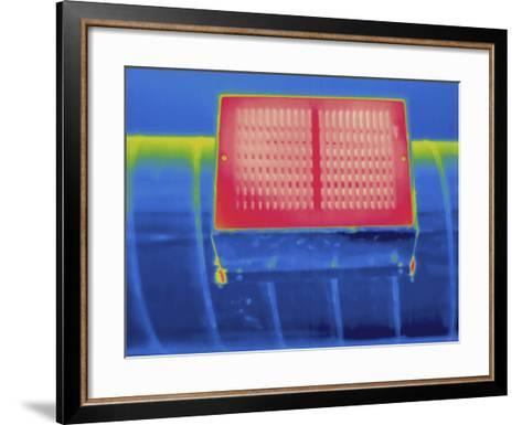 Thermogram - Heating Ducts-Scientifica-Framed Art Print