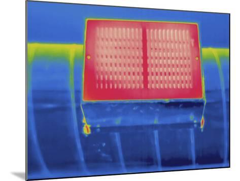 Thermogram - Heating Ducts-Scientifica-Mounted Photographic Print