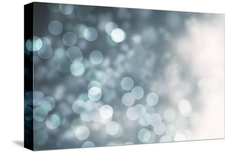 Dreamy Bokeh Midnight-THE Studio-Stretched Canvas Print