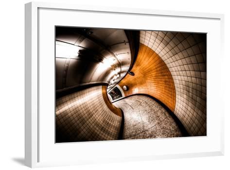 Curvation-Aaron Yeoman-Framed Art Print