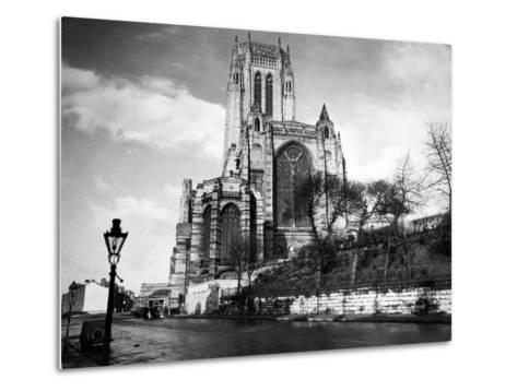 Liverpool Cathedral-Liverpool Post Echo Archive-Metal Print