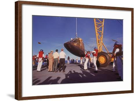 The Apollo 10 Command Module (Capsul), 26 May 1969--Framed Art Print