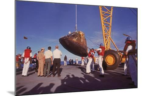 The Apollo 10 Command Module (Capsul), 26 May 1969--Mounted Photographic Print