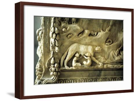 Romulus and Remus Suckling from the She-Wolf Photographic Print by ...