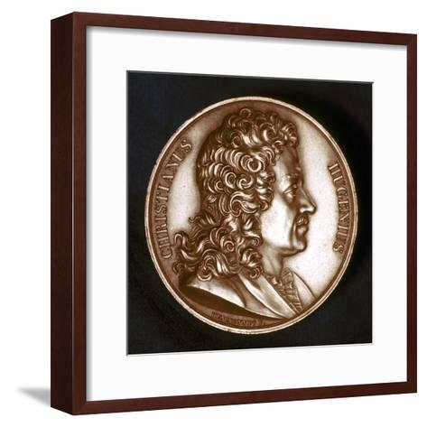 Christiaan Huyghens (1629-169), Dutch Physicist-F Henrionnet-Framed Art Print