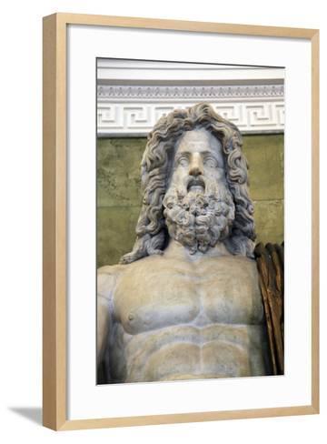 Statue of the Roman God Jupiter, Late 1st Century--Framed Art Print