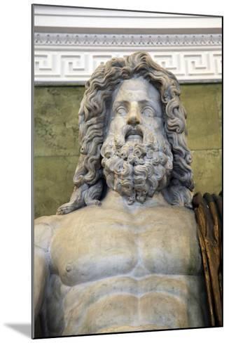Statue of the Roman God Jupiter, Late 1st Century--Mounted Photographic Print