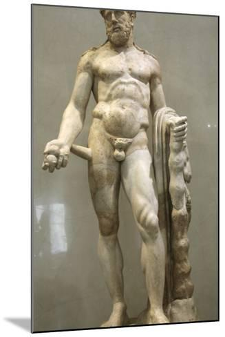 Statue of Heracles, 2nd Century--Mounted Photographic Print