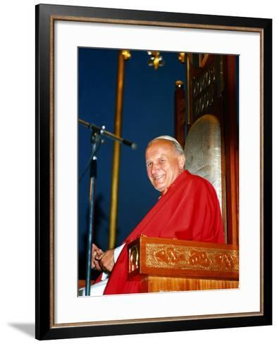 Pope John Paul II--Framed Art Print