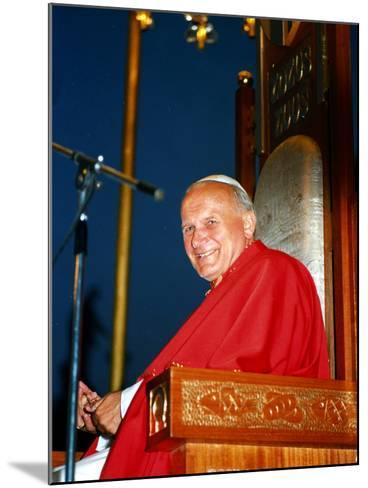 Pope John Paul II--Mounted Photographic Print