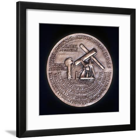 Dominique Francois Jean Arago (1786-185), French Astronomer, Physicist and Politician--Framed Art Print