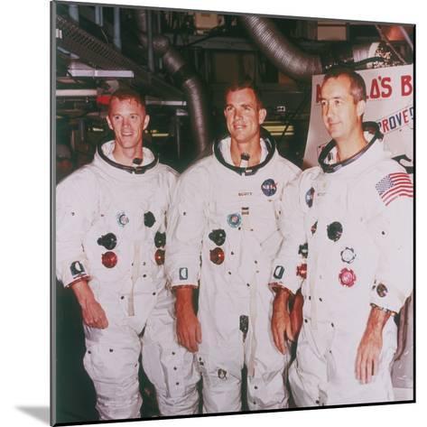 Apollo 9 Astronauts, 1968--Mounted Photographic Print