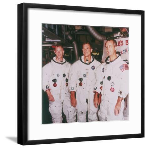 Apollo 9 Astronauts, 1968--Framed Art Print