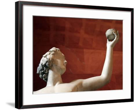 Statue of Dionysus, God of Wine and Patron of Wine Making--Framed Art Print