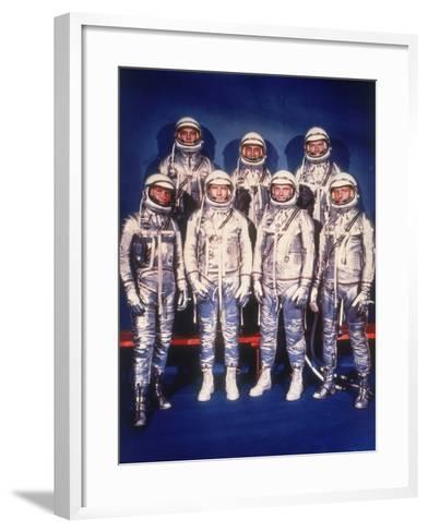The Mercury Seven Astronauts, 1959--Framed Art Print