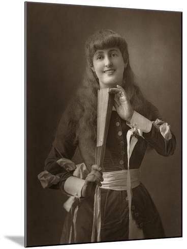 British Actress Alice Atherton in Oliver Grumble, 1886- Barraud-Mounted Photographic Print