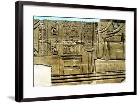 Imhotep, Ancient Egyptian Physician--Framed Art Print
