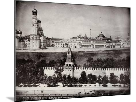 View of the Moscow Kremlin, Russia, C1870-C1875--Mounted Photographic Print