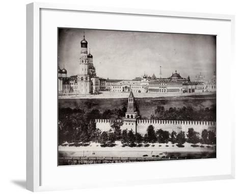 View of the Moscow Kremlin, Russia, C1870-C1875--Framed Art Print