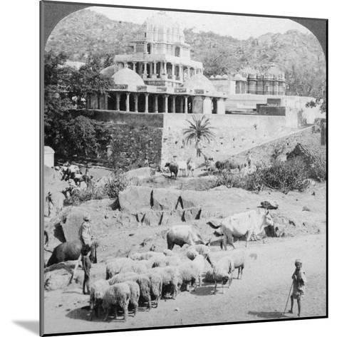 Temples of the Jains, Mount Abu, India, 1902-Underwood & Underwood-Mounted Photographic Print