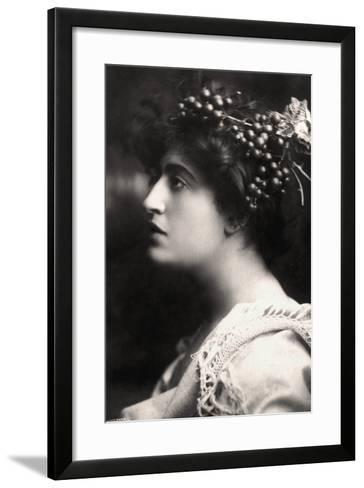 Constance Collier (1878-195), British Actress, 1900s-Foulsham and Banfield-Framed Art Print