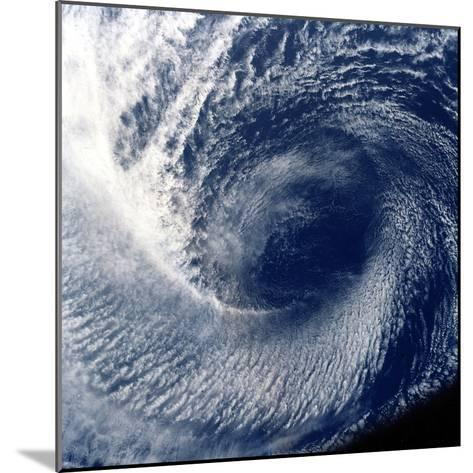 Eye of Tropical Storm 'Blanca' Photographed Between 17 and 24 June 1985--Mounted Photographic Print