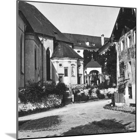 St Wolfgang, Salzkammergut, Austria, C1900s-Wurthle & Sons-Mounted Photographic Print