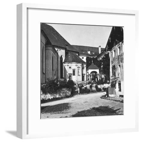 St Wolfgang, Salzkammergut, Austria, C1900s-Wurthle & Sons-Framed Art Print