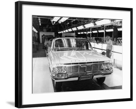 Chevrolet Assembly Line--Framed Art Print
