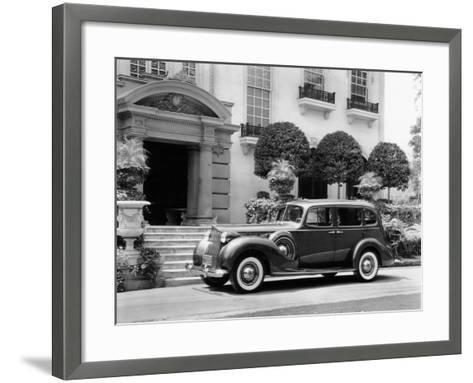 1938 Packard Super 8, (C1938)--Framed Art Print