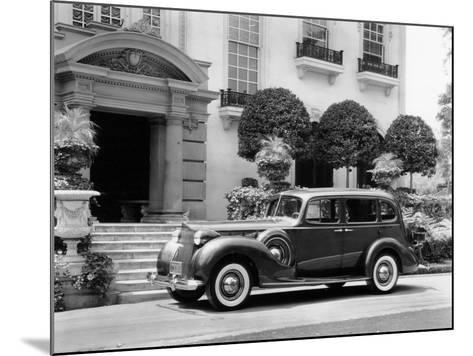 1938 Packard Super 8, (C1938)--Mounted Photographic Print