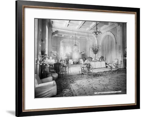 The Reception Hall, Viceregal Lodge, India, 20th Century--Framed Art Print