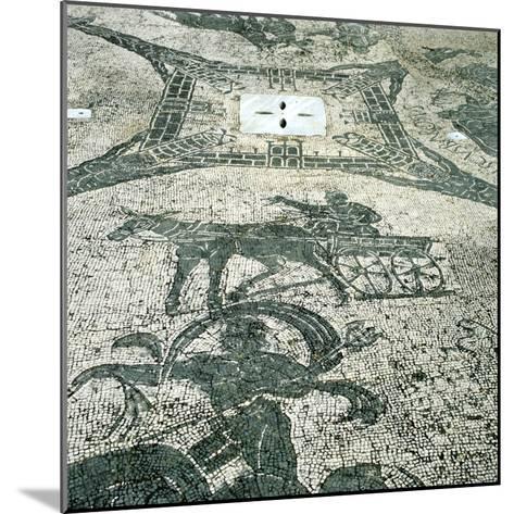 Chariotieer, Mosaic, Cisarii, Ostia, Italy, C1st Century--Mounted Photographic Print