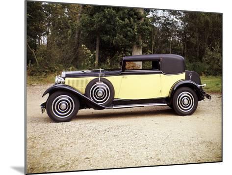 1928 Hispano-Suiza--Mounted Photographic Print