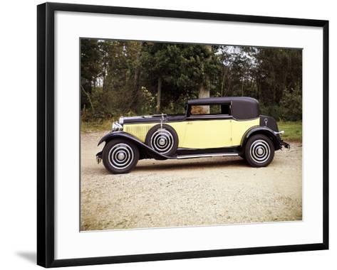 1928 Hispano-Suiza--Framed Art Print