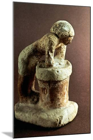 Brewer, Ancient Egyptian Model--Mounted Photographic Print