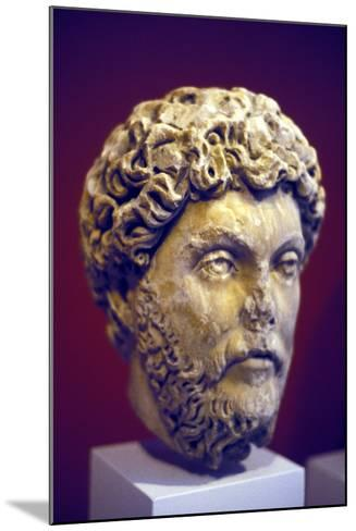Hadrian (76-13), Roman Marble Bust--Mounted Photographic Print